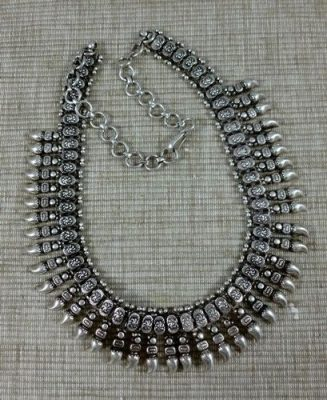 Indian Traditional Silver jewellery
